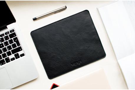 Leather mouse pad // LAPLORD (Black)