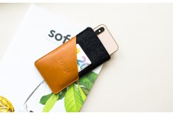 Obal na iPhone // FELTY (Brown/dark)