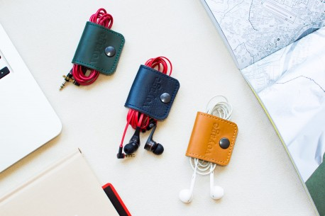 Leather cable organizer // FIT