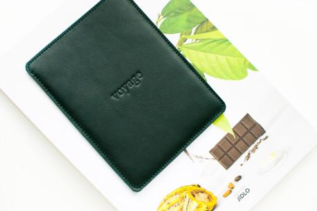 Kožený obal na iPad // Pelta (Green)