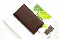 Kožený obal na iPhone Xs, Xr & Xs Max // PELTA (Coffee)