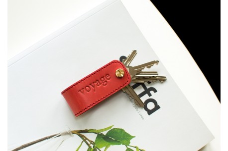 Key organiser leather // DOM (Red)