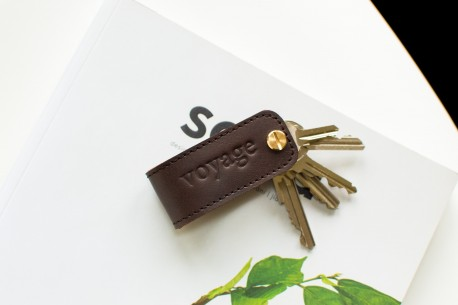 Key organiser leather // DOM (Coffee)