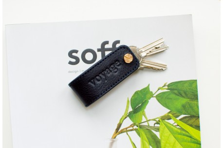 Key organiser leather // DOM (Navy Blue)
