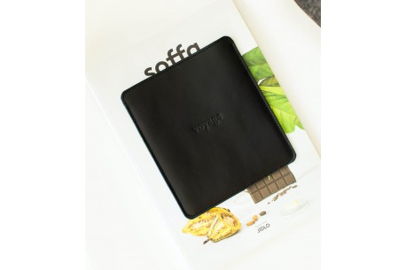 Kožený obal na Amazon Kindle // Pelta (Black)