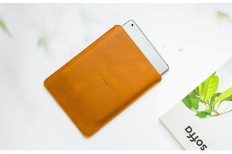Kožený obal na iPad // Pelta (Brown)