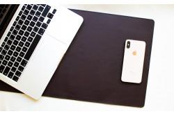 Kožená podložka na stůl // LAPLORD (Green)