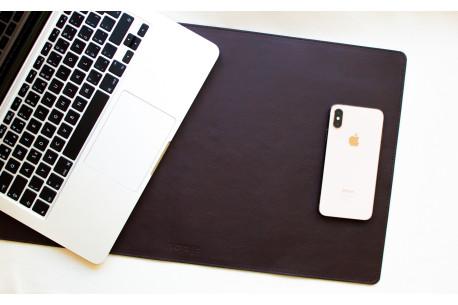 Leather desk pad // LAPLORD (Coffee)